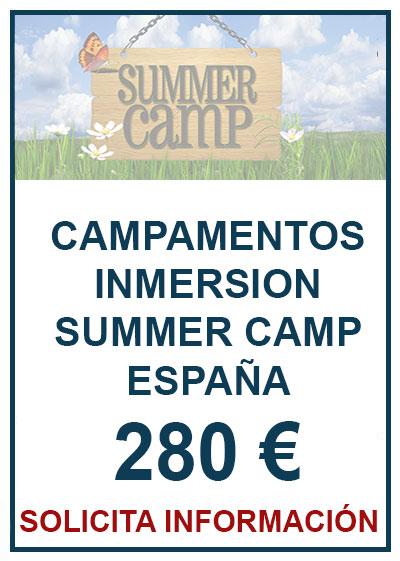 Campamento Summer Camp España