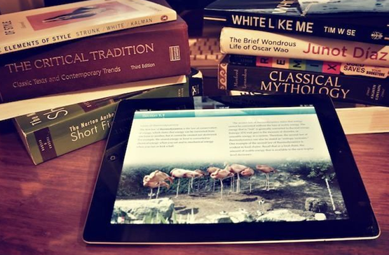 Textbooks, a thing of the past?