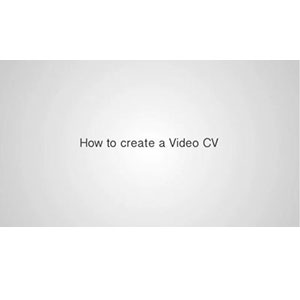 How to create a video CV